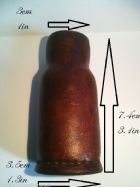 Brown Leather Potion Bottle